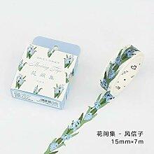 DFG kleine frische pflanzenblüten und