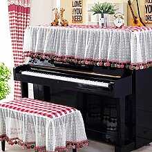 Dfghbn Dekorative Piano Staubschutzhülle