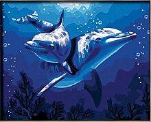 DFGHN Hochzeitsdekoration Delphin Liebe wandbilder