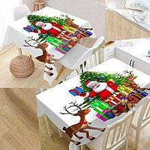 DFHDF Weihnachtsdekorationen Tischdecke Im