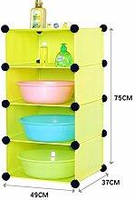 DFHHG® 49 * 37 * 75cmBadezimmer Regal Badezimmer