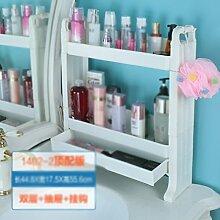 DFHHG® Bad Waschbecken Regal Badezimmer Kosmetik