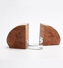 DFHHG® Buchständer Bücherregal 150 * 150 * 280mm Persönlichkeit Holz dauerhaf