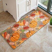 DFHHG® Die Türmatten Hall Door Mats Wohnzimmer Küche Schlafzimmer Lange saugfähige Pad Bad Matratze Gemütlich ( größe : 50*120cm )