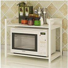 DFHHG® Küche Mikrowelle Ofen Regal Backofen Rack