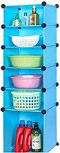 DFHHG® Plastik Waschbecken Regal Höhe oben