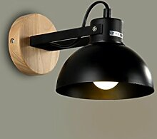 DFHHG® Wandlampe, amerikanischer Retro- Kreative