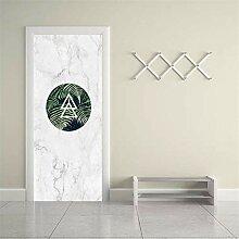 DFKJ 3D Tür Aufkleber Tür Aufkleber Renovierung