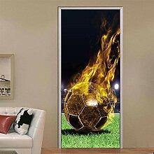 DFKJ wasserdichte Kunst 3D-Druck Fußball