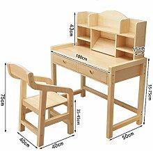 DFQ Elektrischer Schreibtisch,Kinder Stuhl Set
