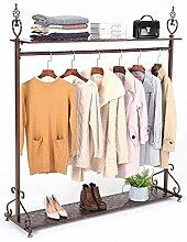 DGDG Vintage Style Kleiderständer Regal mit