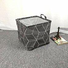 DGDHSIKG Aufbewahrungsbox Faltbarer Wäschekorb