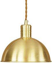 DGHJK Industrielle Vintage-Lampe aus reinem Kupfer