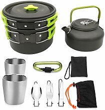 DGSFES Outdoor Camping Kochgeschirr Mixer Kit mit