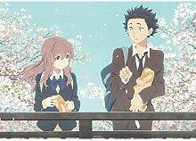 DGSJH Aufkleber Bild Anime Diamant Malerei Die