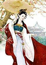 DGSJH DIY Chinese Ancient Girl Bild von