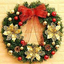 DHFW Weidenkranz Weihnachten kränze Türkranz