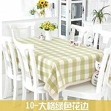 DHG Einfache Moderne Garten Party Tischdecke