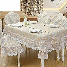 DHG Europäische Garten Tischdecke Stoff