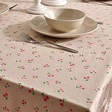 DHG Garten Tischdecke Stoff Modern Einfache