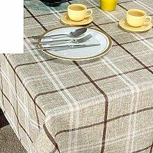 DHG Garten Tischdecke Stoff Tischdecke längliche