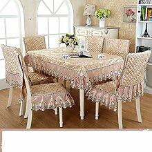 DHG Garten Tischdecke Stoff Tischdecke Tischdecke