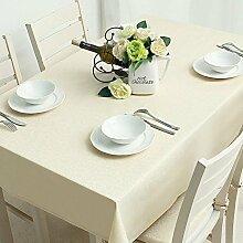 DHG Garten Tischdecke Tischdecke Leinen Tischdecke