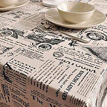 DHG Garten Tischdecke Tischwäsche Premium Tuch