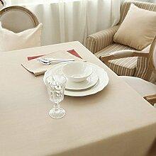 DHG Moderne Einfache Tischdecke Stoff Tischdecke
