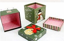 DHJUST Heiligabend Apple Box Geburtstag