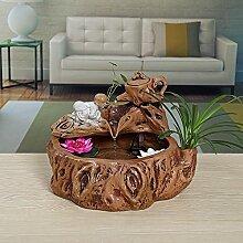 DHJUST Keramik Wasser Dekoration Büro Zhaocai