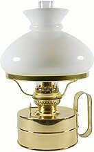 DHR Petroleumlampe Galley Messing poliert, mit
