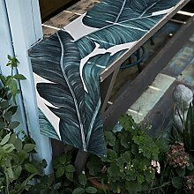 DHSNJKL Tischläufer/aquarell pflanze baumwolle