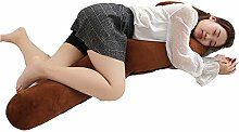 DHTOMC Bett-Keil-Kissen-Stützkissen Schwangere
