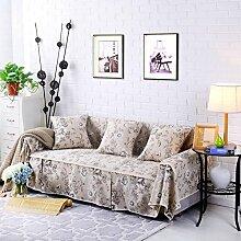 DHWJ Gartensofa Gepolsterte Sofa Eine Volle