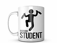 Diagnosis Student School University Komisch Cool