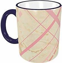 Diagonal Seamless auf Papier Kaffeetasse 11 Unzen