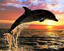 Diamant Malerei 5D Delfine DIY Voll Bohren
