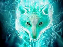 Diamant Malerei Fuchs 5D DIY Feuer Fuchs Voll