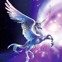 Diamant Pegasus Malerei 5D DIY Voll Bohren Harz