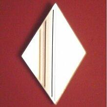 Diamant Wandspiegel, plastik, 60 x 41 cm