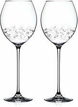 Diamante 5201.352 Herz Weißwein Weingläser,
