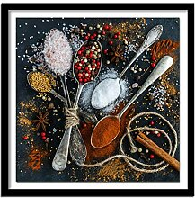Diamantstickerei Gemälde '' Küchenbild