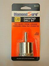 DiamantSure Diamantbohrer für Glas, Fliesen,