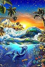 Diamond Painting Set 60x80cm Unterwasserwelt