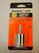 DiamondSure Lochsäge, 28,8 mm, für Glas,