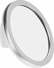 DIAQUA 45202720 Kosmetikspiegel mit Tesa Powerstrips, weiß