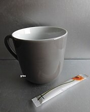 Dibbern Solid Color Grau Becher Mit Henkel 0,32 L