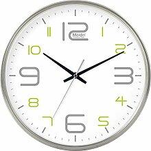 DIBC Einfache und leise Uhr Wohnzimmer Büro