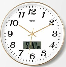 DIBC Europäische stille Uhr runde quarzuhr 5mm